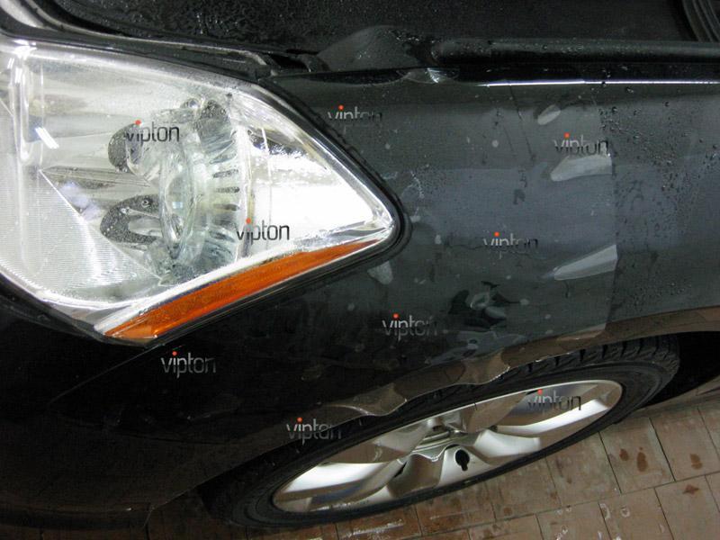 Автомобиль Infiniti М 35 .  / Нанесение антигравийной пленки VENTURESHIELD. 2