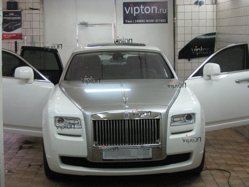 Rolls-Royce: тонировка авто 1
