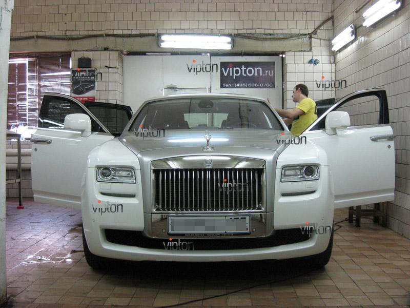 Rolls-Royce: тонировка авто 2