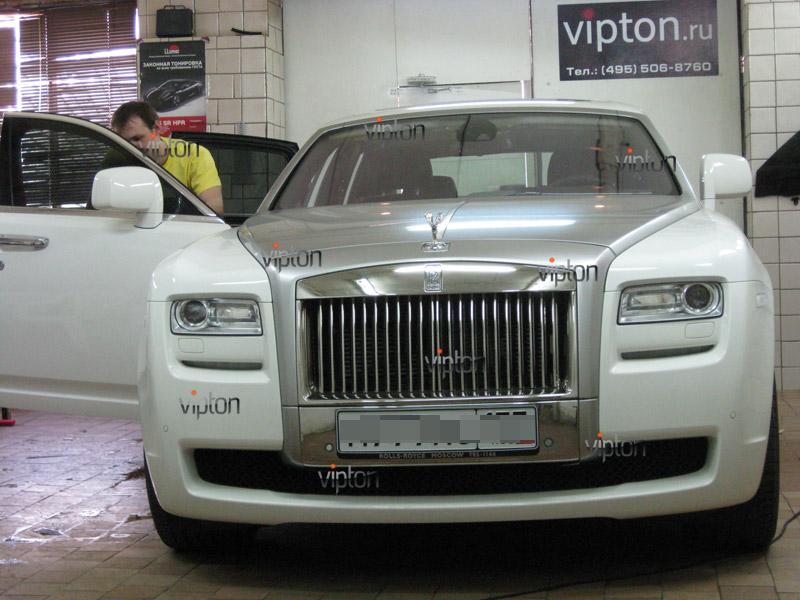 Rolls-Royce: тонировка авто 3