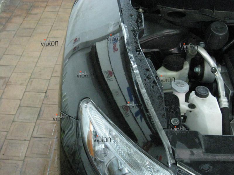 Автомобиль Nissan Murano. / Нанесение антигравийной пленки VENTURESHIELD