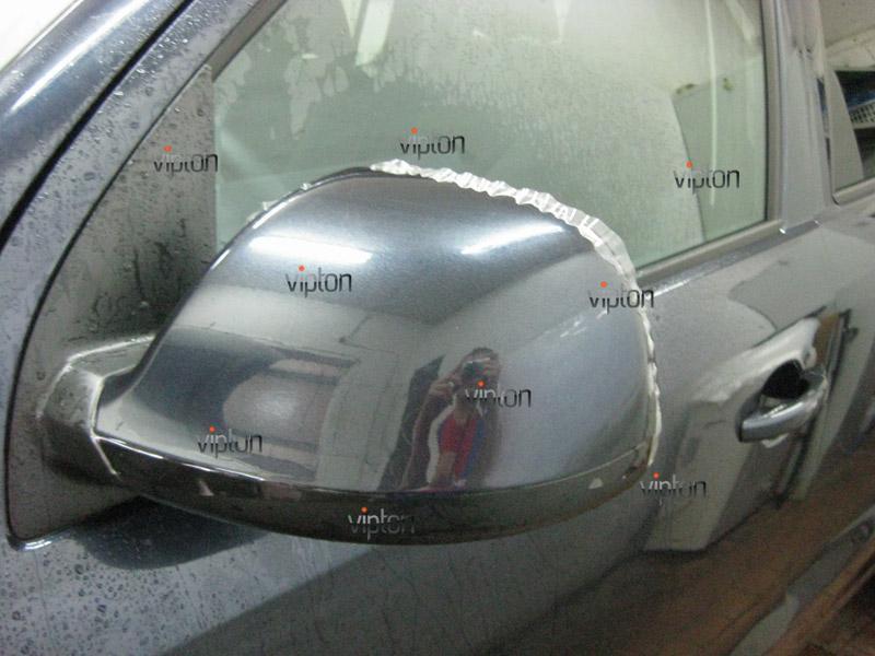 Автомобиль Volkswagen Amarok. / Нанесение антигравийной пленки VENTURESHIELD. 4