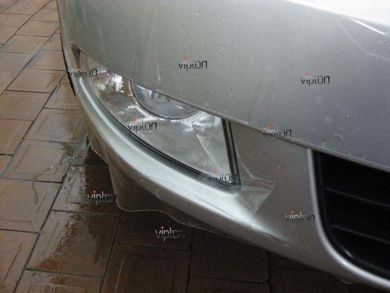 Автомобиль Skoda Octavia 2.   / Нанесение антигравийной пленки VENTURESHIELD 3