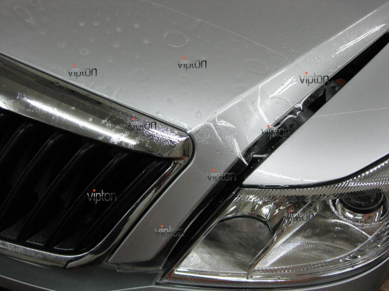 Автомобиль Skoda Octavia 2.   / Нанесение антигравийной пленки VENTURESHIELD 4