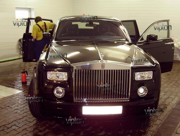 Rolls-Royce Phantom: тонирование авто