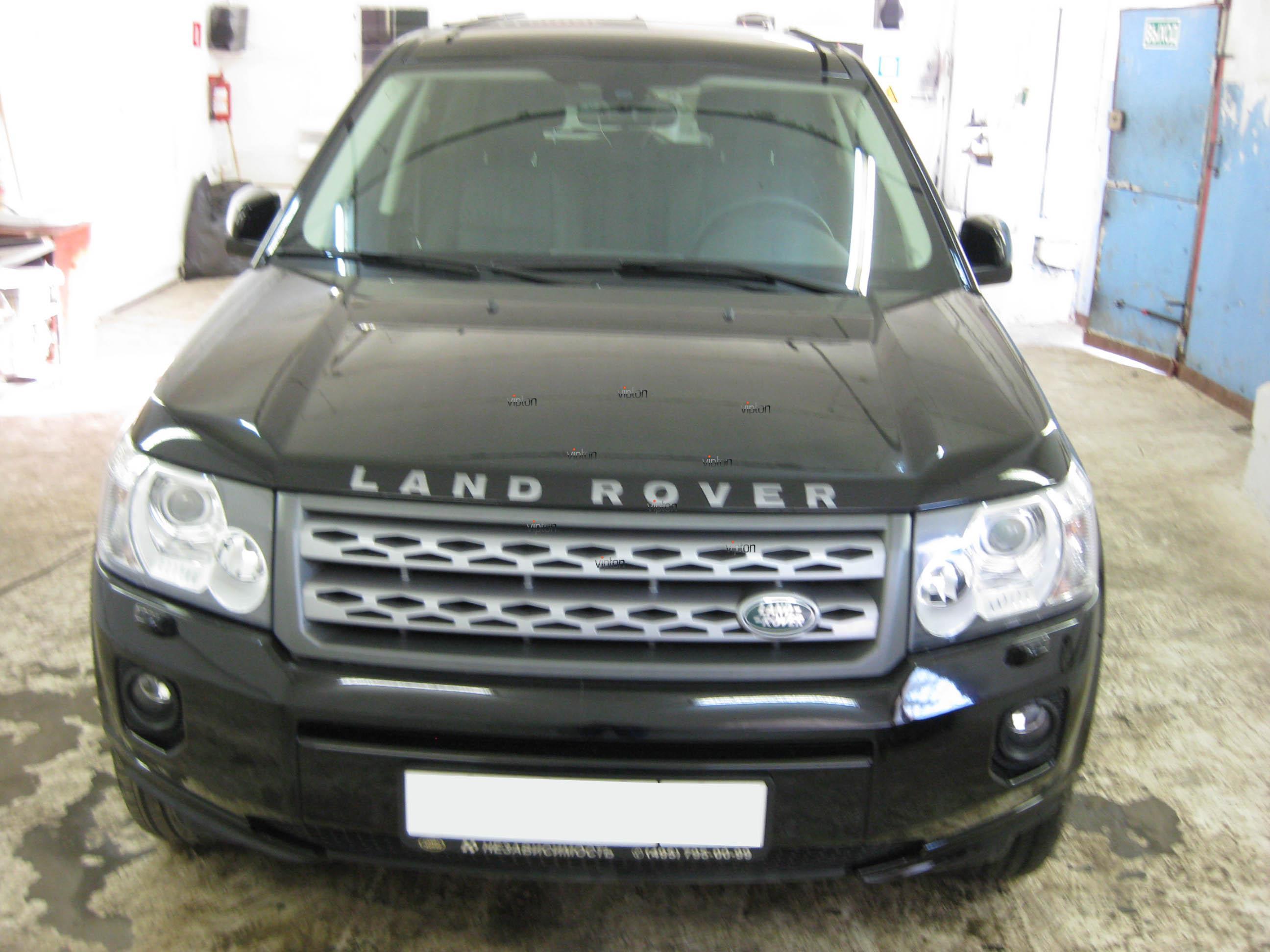 Автомобиль Land Rover Freelander: антигравий
