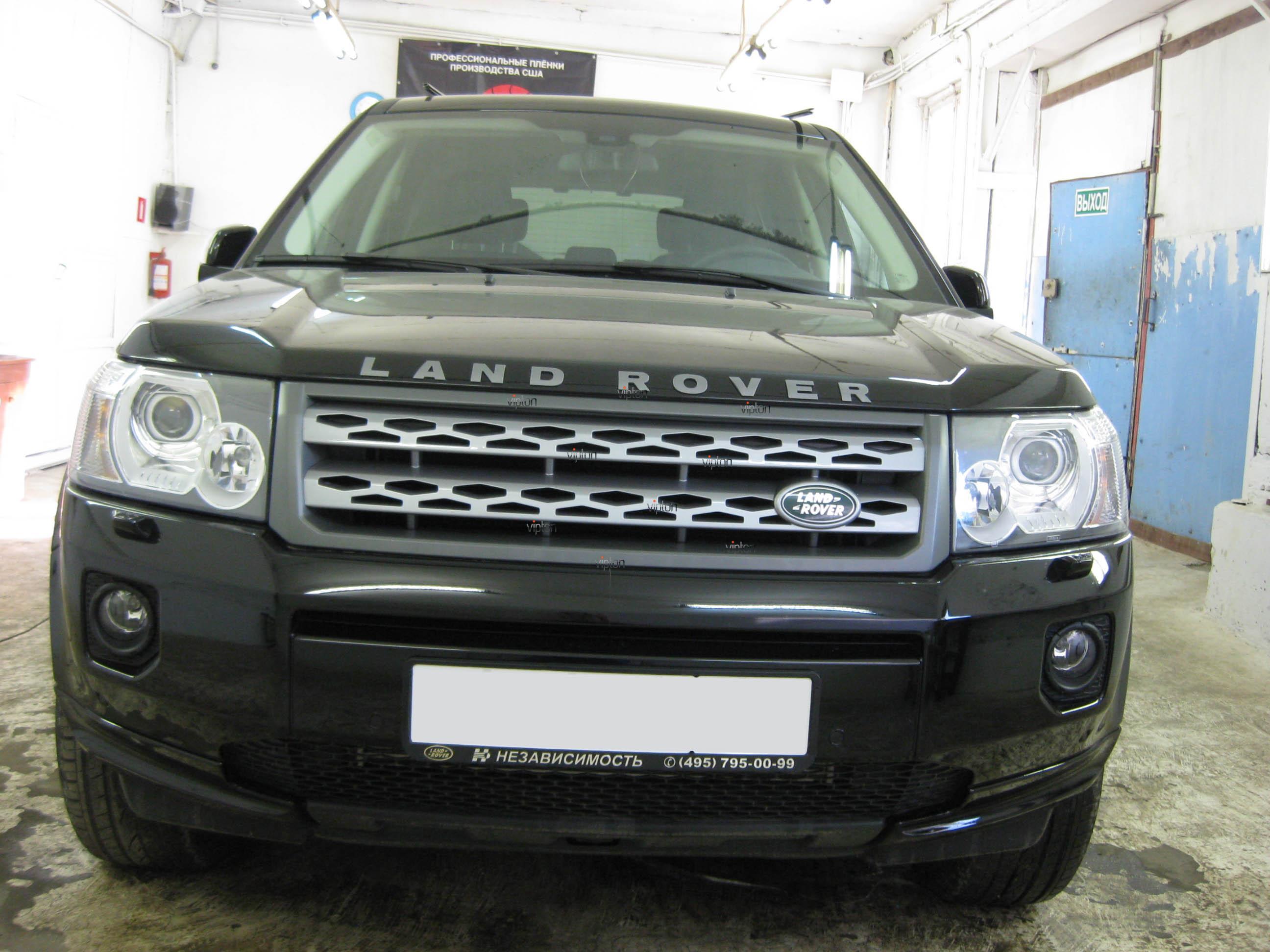 Автомобиль Land Rover Freelander: антигравий 2
