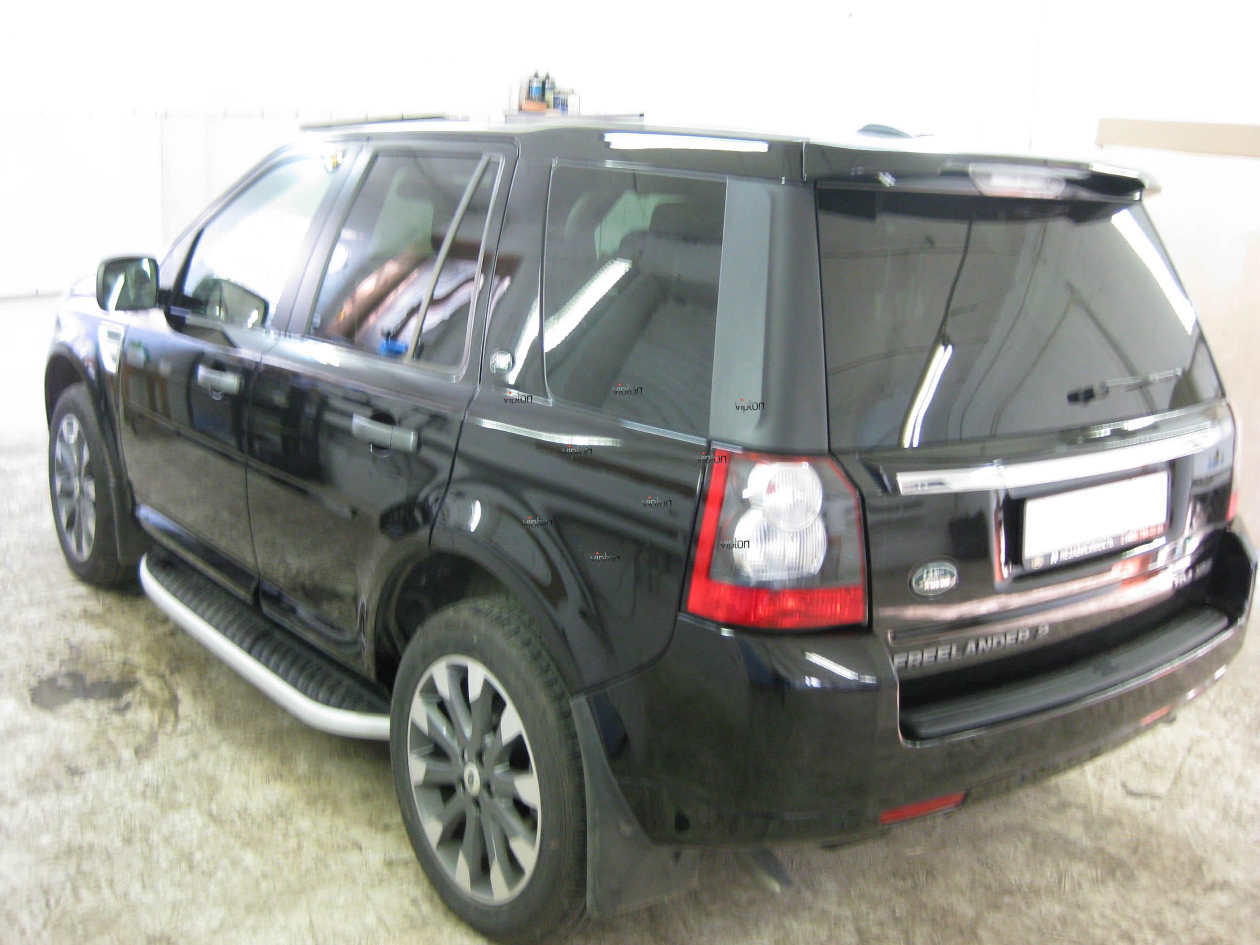 Автомобиль Land Rover Freelander: антигравий 3