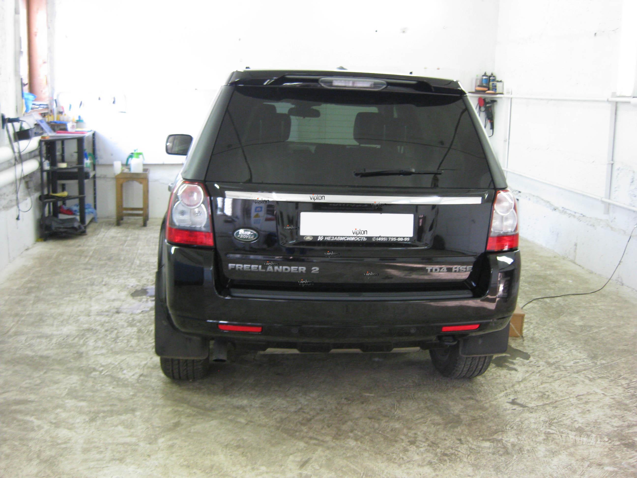 Автомобиль Land Rover Freelander: антигравий 4