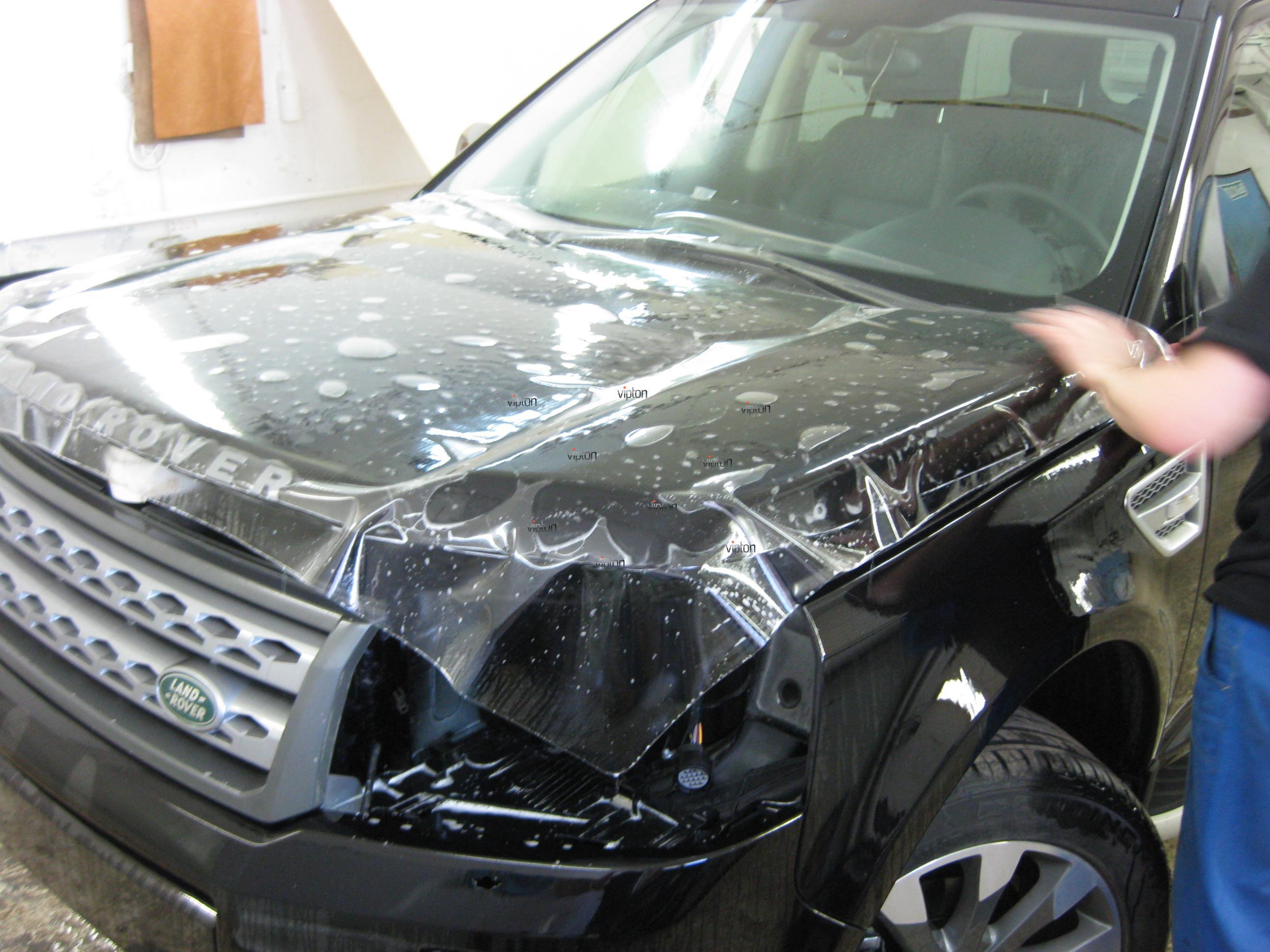 Автомобиль Land Rover Freelander: антигравий 6