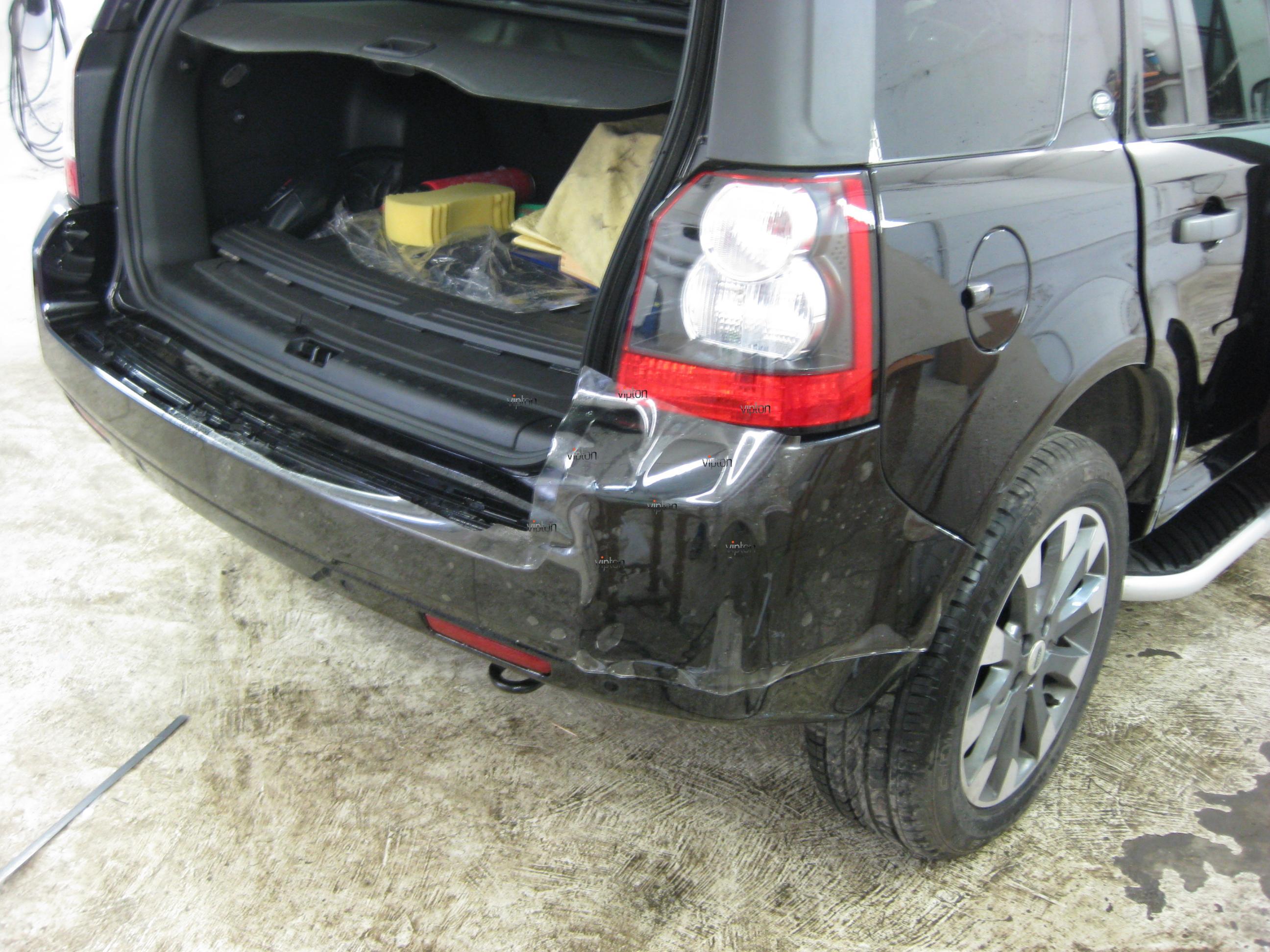 Автомобиль Land Rover Freelander: антигравий 7