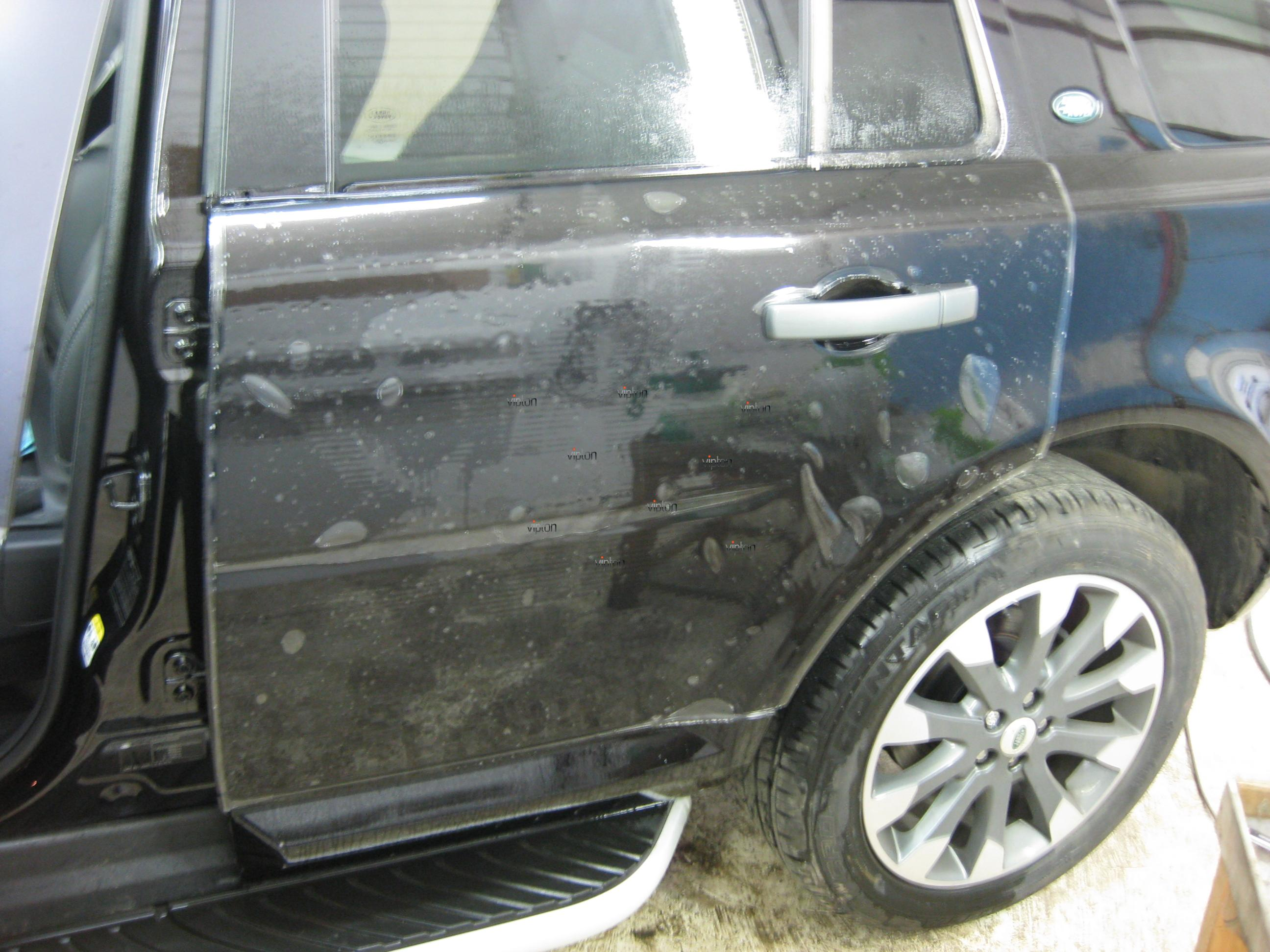 Автомобиль Land Rover Freelander: антигравий 10