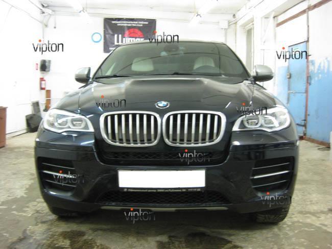 BMW X6: антигравийная защита