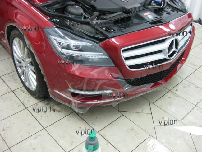 Mercedes Benz CLS: Антигравийная пленка 2