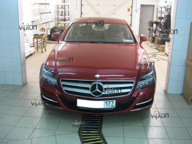 Mercedes Benz CLS: Антигравийная пленка 3