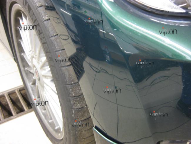 BMW 3 (E92) Alpina: Антигравийная защита 3