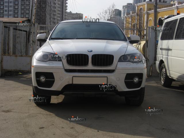 BMW X6: тонировка авто