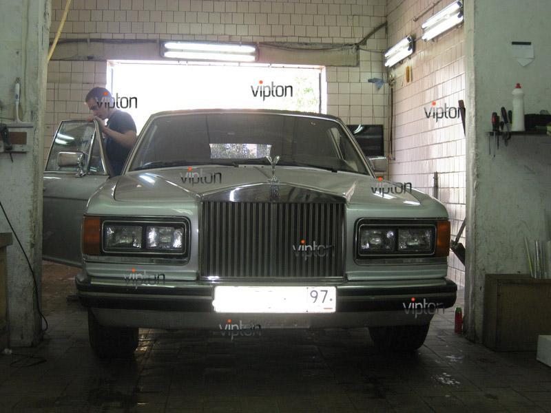 Rolls-Royce: тонирование пленкой LLumar 3