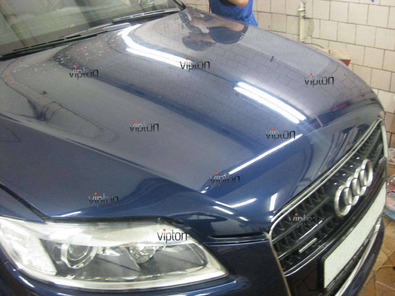 Audi Q7: установка антигравийной пленки 5