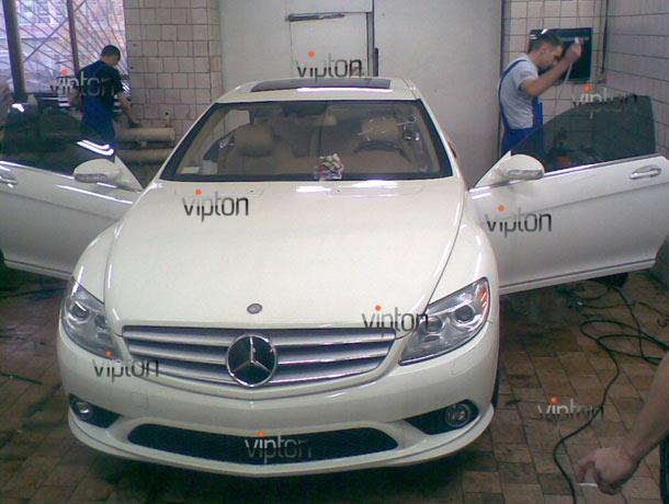 Mercedes-Benz CLS: Тонировка автомобиля