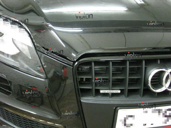 Автомобиль Audi Q7 / Нанесение антигравийной пленки VENTURESHIELD 5