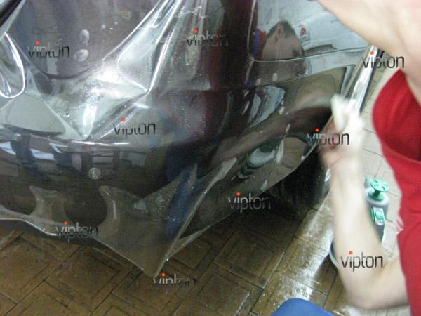 Автомобиль Audi А4 / Нанесение антигравийной пленки VENTURESHIELD. 3