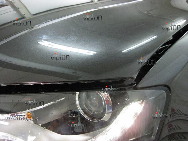 Автомобиль Audi А4 / Нанесение антигравийной пленки VENTURESHIELD. 5