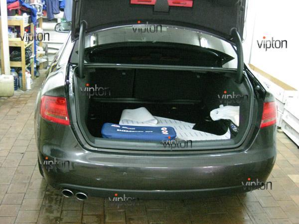 Автомобиль Audi А4 / Нанесение антигравийной пленки VENTURESHIELD. 7