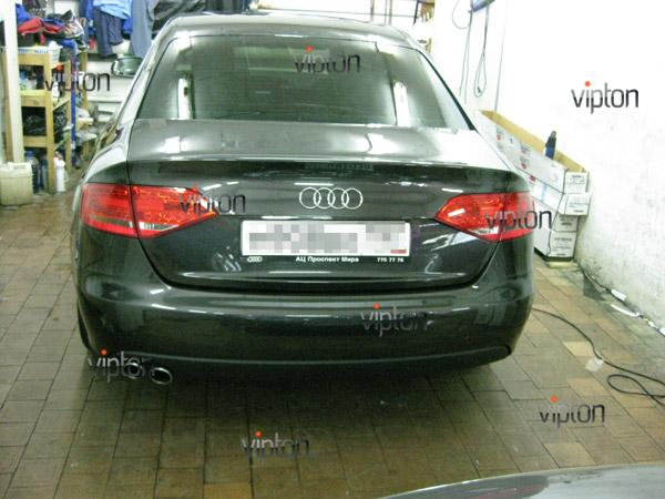 Автомобиль Audi А4 / Нанесение антигравийной пленки VENTURESHIELD. 8