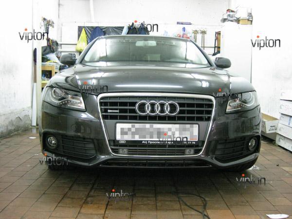 Автомобиль Audi А4 / Нанесение антигравийной пленки VENTURESHIELD. 9
