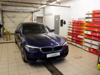 BMW 5 G-30 Тонировка