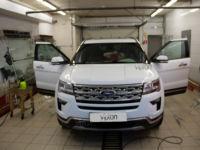 Ford Explorer: тонировка