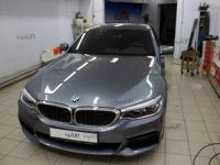 BMW 5 G-30: тонирование задняя полусфера