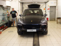 Porsche Cayenne: тонирование