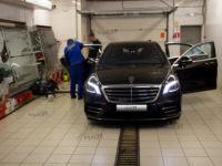 Mercedes-Benz S-klasse: тонировка