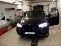 BMW X6: тонирование