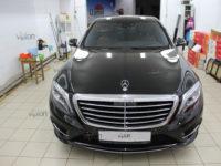 Mercedes-Benz S-klasse: тонирование а/м полностью