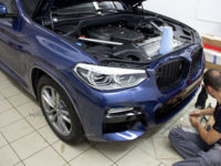 BMW X-3: LLUMAR GLOSS PPF