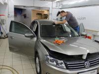 Volkswagen Passat: Бронирование лобового стекла