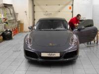 Porsche 911: Тонирование Llumar ATR 15