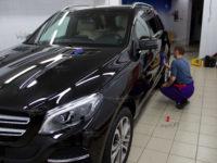 Mercedes-Benz GLE полировка,  нанесение  ULTRA CERAMIC COAT