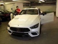 Mercedes-Benz AMG GT 63 S: Тонирование