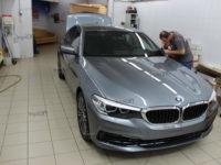 BMW 5 серия (G-30): Антигравийная защита LLumar PPF Gloss
