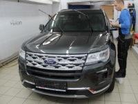Ford Explorer: Нанесение  Ceramic Pro