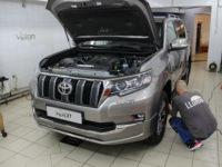 Toyota Land Cruiser Prado: Пленка SUNTEK