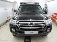 Toyota Land Cruiser 200 пленка LLumar Platinum Plus PPF