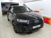 Audi Q7: Пленка SPARKS TOP-расширенный пакет