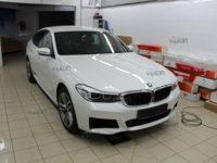 BMW 6 серия GT Установка защитной антигравийной