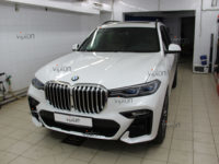 BMW X7:LLumar Platinum Plus PPF- расширенный пакет