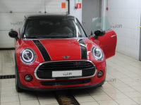 MINI Hatch  SPARKS TOP- капот + фары.